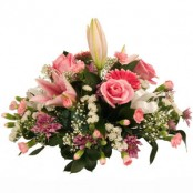 Pink Posy Arrangement