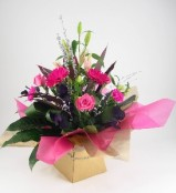 Contemporary Pink Handtied