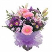 Purple Haze Handtied Bouquet
